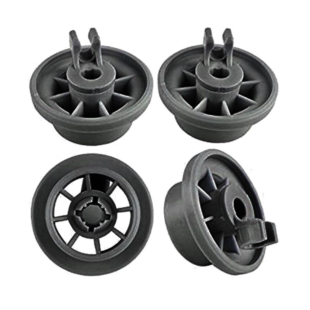 4pcs Dishwasher Lower Rack Basket Dishrack Wheel Suitable For Bosch Siemens NEFF Set Lower Basket