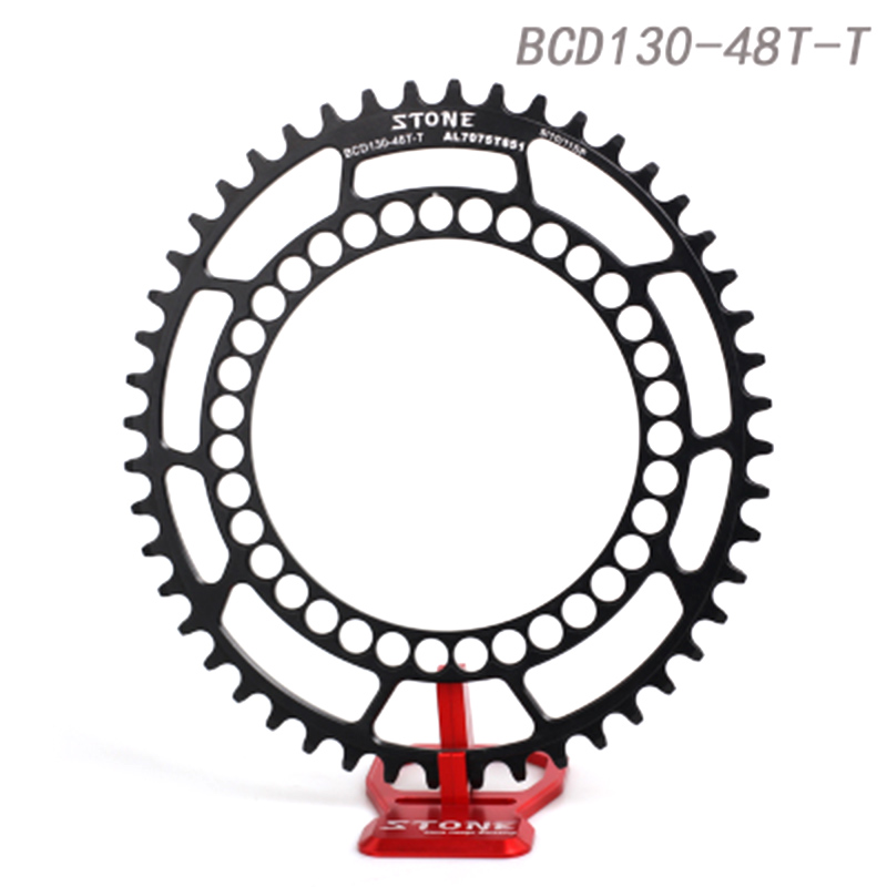 Stone Road Bike CX Cyclocross Oval Chainring BCD 130mm 5 Arms For 5700 6700 Folding Bike