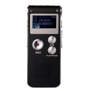 Hifi USB мини MP3 музыкальный плеер ЖК-экран Поддержка 8 Гб Micro SD с WMA/WAV/MP3/OGG Встроенный микрофон