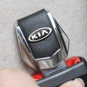Image 2 - รถความปลอดภัยหัวเข็มขัดคลิปใส่ปลั๊กคลิปคุณภาพดีรถที่นั่งเข็มขัดหัวเข็มขัดสำหรับ KIA Cerato Sportage R K2 K3 k5 RIO 3 4 Sorento