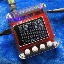 JYE Tech Mini osciloscopio Digital DSO138, Kit de bricolaje, piezas SMD, juego de aprendizaje electrónico presoldado, funda transparente 1MSa/s