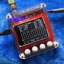 JYE teknoloji DSO138 Mini dijital osiloskop DIY kiti SMD parçaları ön lehimli elektronik öğrenme seti 1msa/s şeffaf kılıf