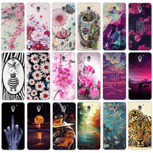 цена на For ZTE A510 BA510 Case Soft TPU Silicone Cover For ZTE Blade A510 A610 AF3 A5 L110 A112 Case 3D Coque For ZTE nubia Z11 N1 Case