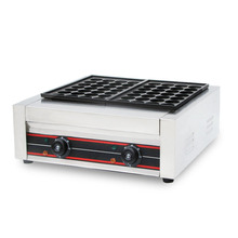 SUCREXU Commercial Takoyaki Maker Octopus Balls Baking Machine Professional Cooking Tool 56PCS/Time CE цена и фото