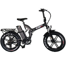 Ebike-Fat Hub-Motor Electric-Bike Li-Ion-Battery Biycle Foldable 500W 20in Brushless