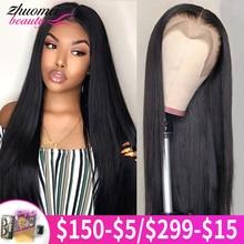 360 полноразмерный фронтальный парик на сетке, предварительно выщипанные прямые человеческие волосы, парики, цветные безклеевые человеческ...