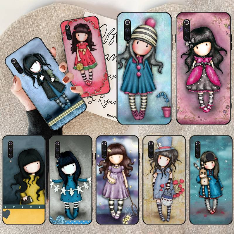 PENGHUWAN Cartoon Lovely Santoro Gorjuss Silicone Phone Case Cover for Redmi Note 8 8A 7 6 6A 5 5A 4 4X 4A Go Pro Plus Prime(China)