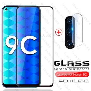 Перейти на Алиэкспресс и купить Защитное стекло для объектива камеры honor 9c, Защитное стекло для huawei honor 9c, xonor, 9 c, c9, honor9c, защитная пленка с защитой для влюбленных