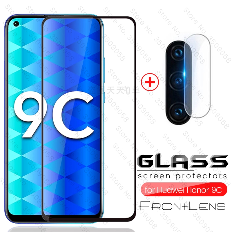 Honor 9c стекло 2-in-1 Camera Protective Glass For Huawei Honor 9c Xonor 9 C C9 Glass Honor9c Aka-l29 Safty Amor Protection Film