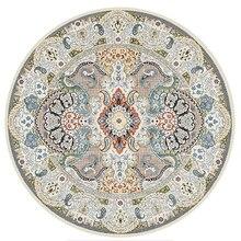 Marruecos étnica ronda alfombra para sala de americano dormitorio alfombra persa silla Vintage alfombras casa decoración alfombra estudio alfombra