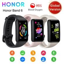 Honor – Bracelet connecté Band 6, avec écran tactile AMOLED 1.47