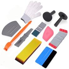 FOSHIO Car Vinyl Wrap Film Squeegee Scraper Tools Set Carbon Fiber Magnet Holders Car Sticker Wrapping Kit Auto Car Accessories