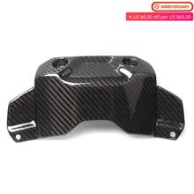 цена на For Yamaha MT-09 FZ-09 Carbon Fiber Front Tank Cover Protector Guard MT09 FZ MT 09 FZ09 2014 2015 2016 2017 2018 2019 Motorcycle