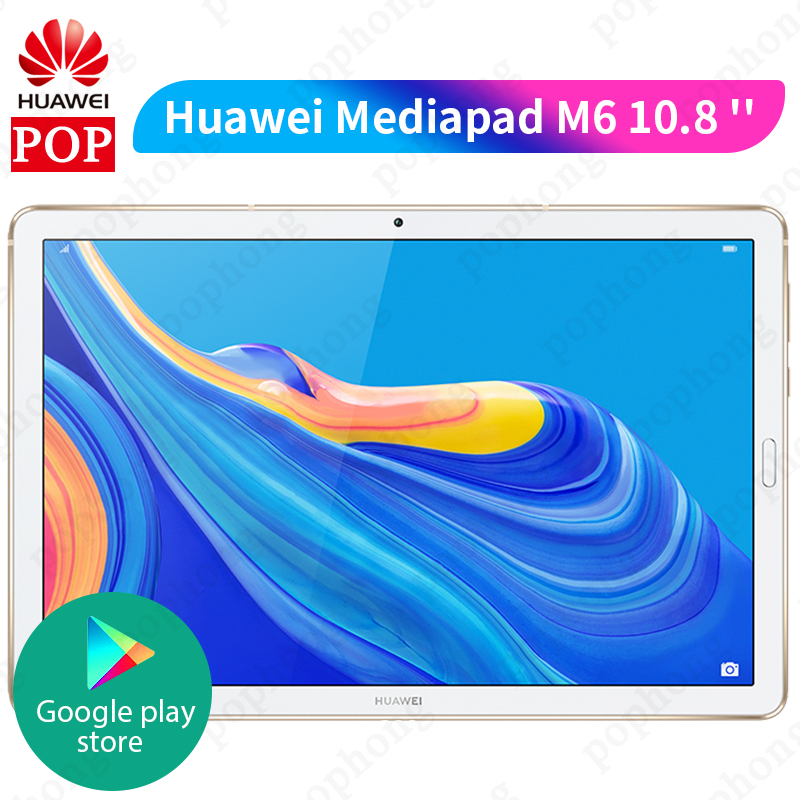Huawei Mediapad M6 10.8 Kirin 980 Octa Core tablet PC Android 9.0 7500mAh Fingerprint Google play four speaker GPU Turbo 3.0Tablets   -