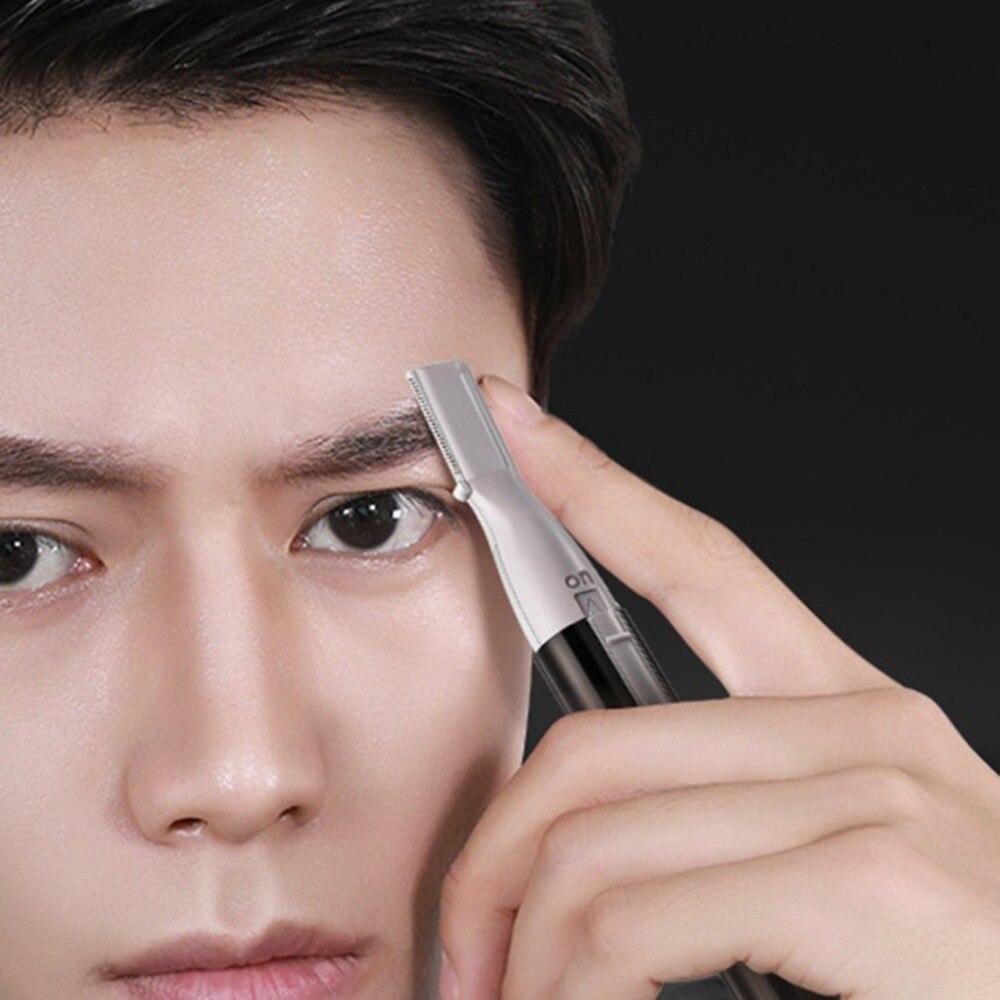 Cejas De Hombre €3.81 42% de descuento|la izquierda y la derecha color hombre eléctrica  ceja forma cuchillo ceja máquina de afeitar de cualquier tipo de piel