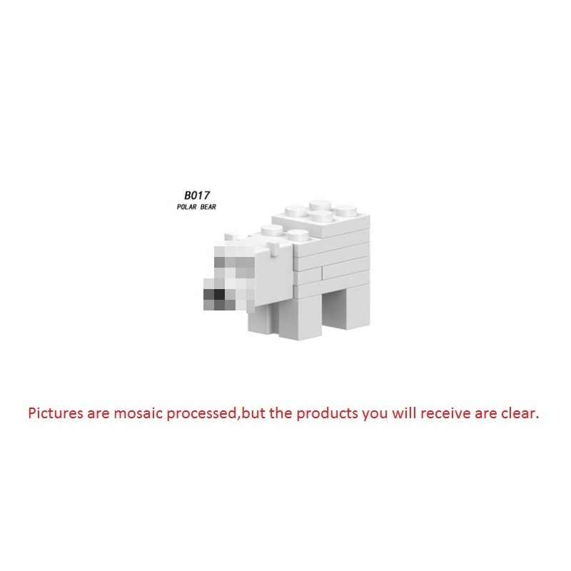 Single Sale Minecrafted Building Blocks Zombie PigMan Steve Alex Skeleton My World Figure Bricks Toy kids gift Compatible Legoed