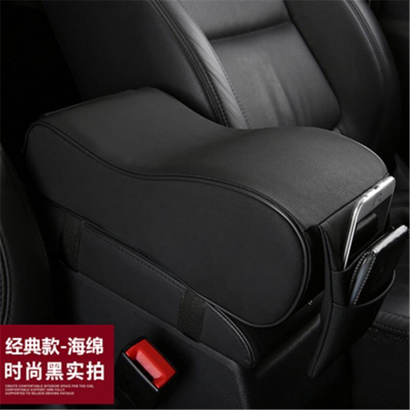 Auto styling Innen PU armlehne box armlehne box erhöhung padfor für Renault Fluence Kadjar Captur ZOE ESPACE Auto zubehör