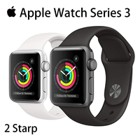 Original Apple Watch Series 3 Used  38MM/42MM GPS 90% New White and Black and Pink iWatch 3 Aluminum Case Sport Band Smart watch 2