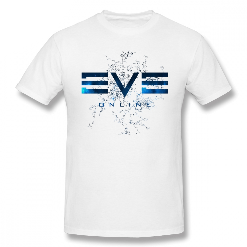 Eve Online T Shirt Eve Online T-Shirt Streetwear Mens Tee Shirt Awesome Print 100% Cotton Short Sleeve Tshirt