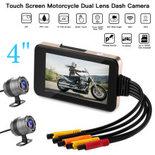 Blueskysea Touch Screen Motorcycle WiFi Camera 140° MT23 Dual DVR Moto GPS HD Dash Cam1080P Waterproof Loop Recording
