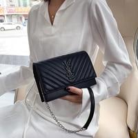 Luxury Handbags Crossbody Bags for Women Designer Bags Famous Brand Women Bags 2019 Messenger Shoulder Bags Letter Chains Flap