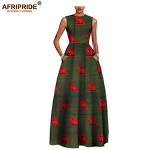 2017African style elegant dresses for women bazin riche femme clothing high quality fashion lady plus size A722509