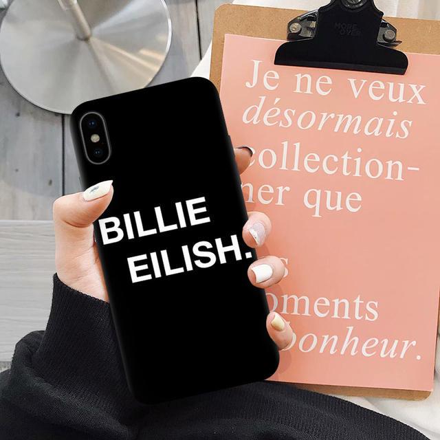 BILLIE EILISH IPHONE CASE (5 VARIAN)