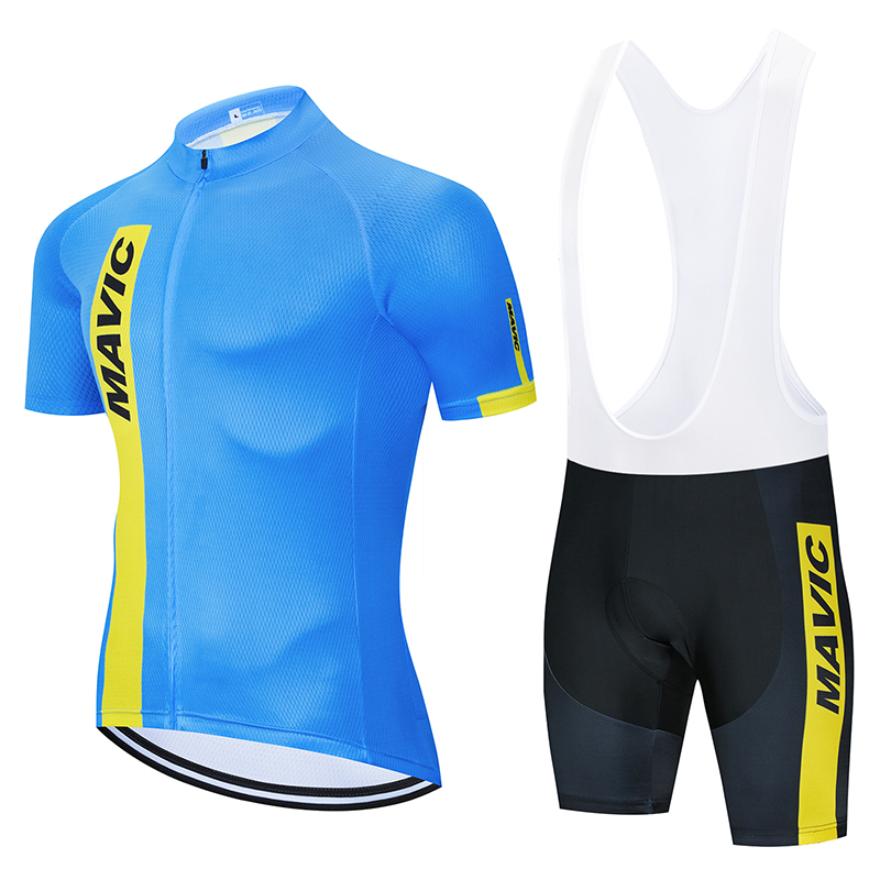 Mavic 2019 Pro Team Cycling Clothing /Road Bike Wear Racing Clothes Quick Dry Men's Cycling Jersey Set Ropa Ciclismo Maillot|Cycling Sets| |  - title=