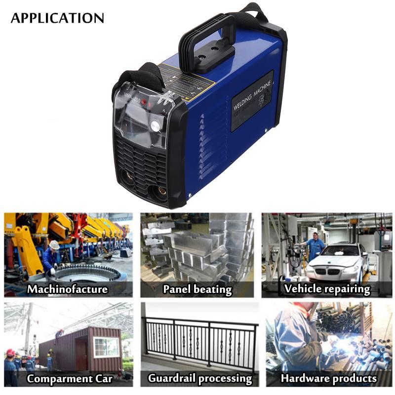 7500 W/6000 W DC Inverter ARC Schweißer 220V IGBT MMA Schweiß Maschine 200Amp/250Amp für Hause anfänger Leichte Effiziente
