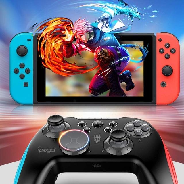 Nintend Switch Console Bluetooth Wireless Controller Joystick Gamepad 3D Changeable Key Backlight TURBO For Android Tablet PC 2