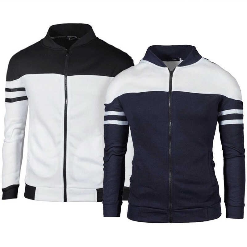 Streetwear männer Outwear Hoodie Warme Mantel Jacke Mit Kapuze Sweatshirt Tops Sport