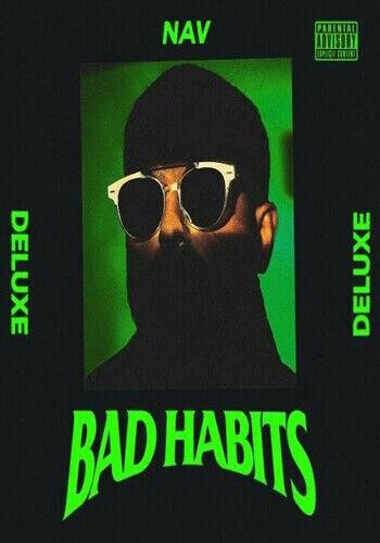 24x24 32x32 Poster NAV Bad Habits 2020 Music Rapper New Art Album Silk T135