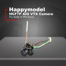 HCF7P AIO VTX Camera 5.8G 40CH 25MW Transmitter 700 TVL 120 degree CMOS Wide Angle NTSC FPV For Sailfly-X Drone
