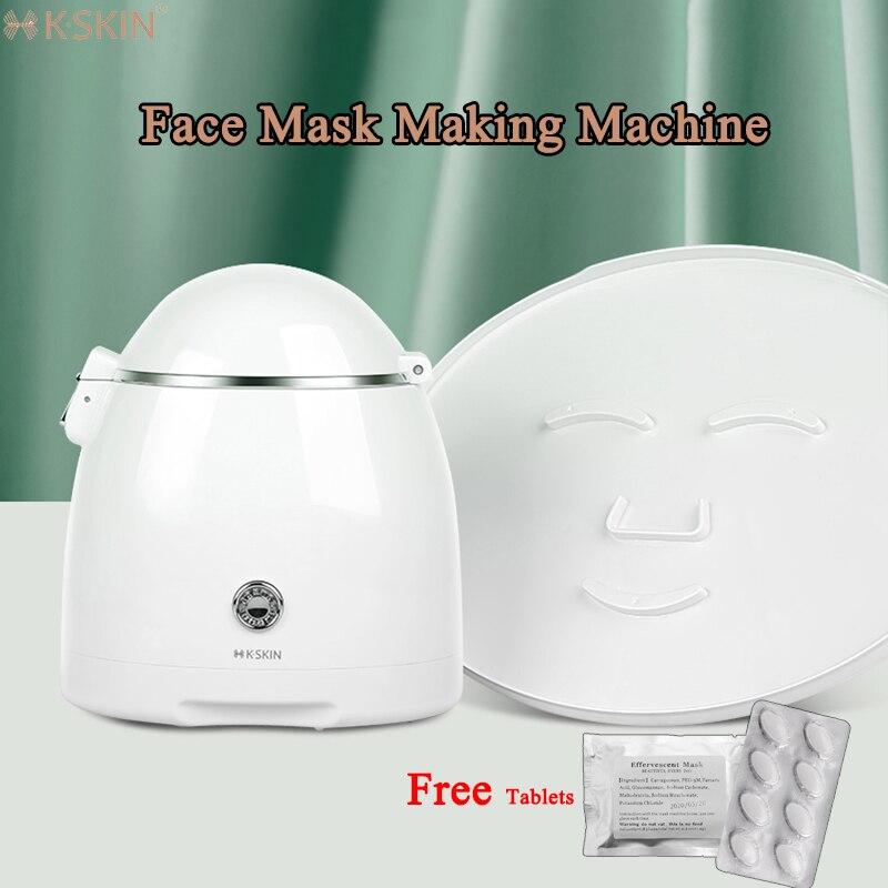 K·SKIN Face Mask Maker Facial Treatment Machine Self-Made DIY Fruit Vegetable Home Beauty Salon SPA Care 32pcs Collagen Tablets