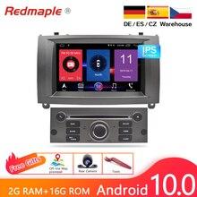 "IPS Bildschirm 7 ""Android 10,0 Auto DVD Player Multimedia Stereo Für Peugeot 407 2004 2010 Auto Radio GPS navigation Steuergerät"