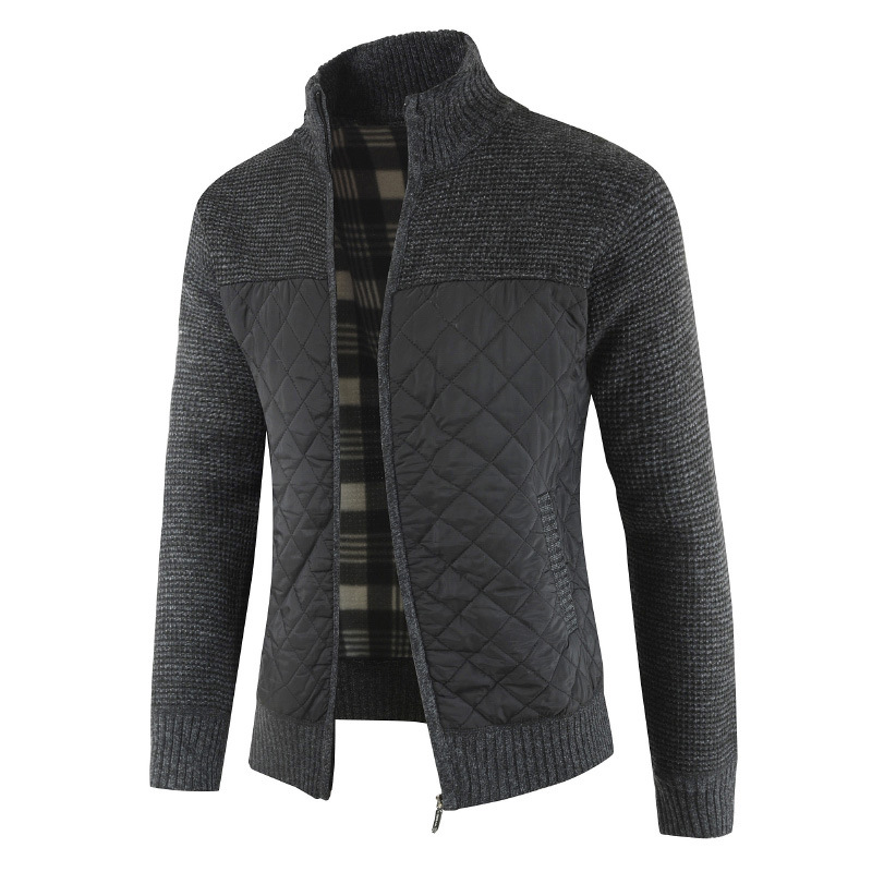 Mountainskin Men's Sweaters Autumn Winter Warm Knitted Sweater Jackets Cardigan Coats Male Clothing Casual Knitwear SA833 2