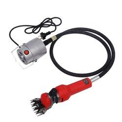 Cortadora de lana de oveja eléctrica de eje Flexible de 110 V/220 V cortadora de tijeras de lana cortadora de cabra 750W 2400RPM Y