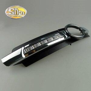 Image 3 - Cho Xe Audi A6 C6 2005 2006 2007 2008 Không Lỗi Chạy Ban Ngày LED DRL Đèn Sương Mù Lái Xe Đèn