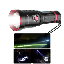 Super Bright Diving Flashlight XHP70 IPX8 Waterproof Highest Professional Diver Light Battery Operated Underwater Torch Aluminum