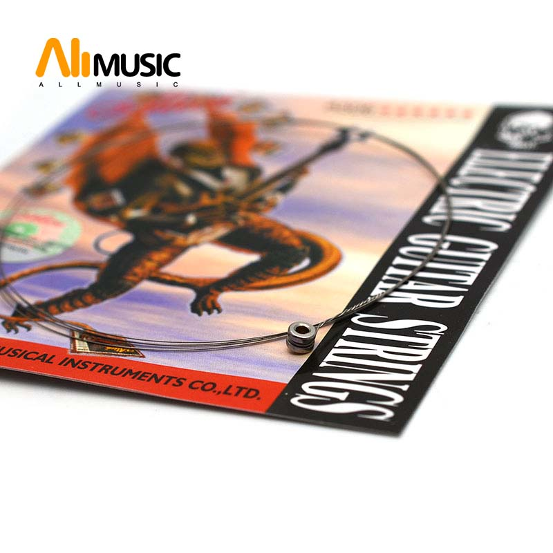 Alice A506 Super Light .009 Inch Steel Electric Guitar Strings Single First 1-st String