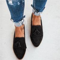 CYSINCOS/женские лоферы на плоской подошве; Повседневная обувь без застежки на плоской подошве; балетки на плоской подошве; удобная женская обу...