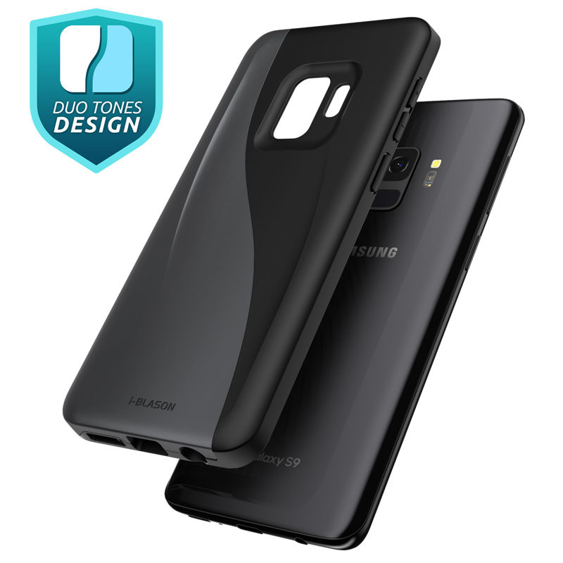 I-BLASON For Samsung Galaxy S9 Case 2018 Release <font><b>Luna</b></font> Series Premium Hybrid TPU + PC Protective Case Back Cover image