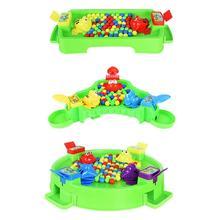 Детские лягушки едят бобы настольная игра интерактивный Досуг мозговые упражнения интересные родитель-ребенок головоломка игрушка случайный
