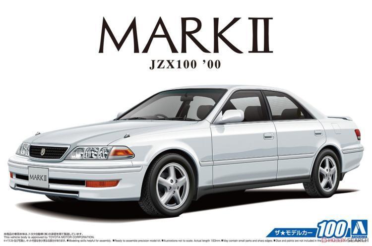 1/24 Toyota JZX100 Mark II Station Wagon V`00 05680