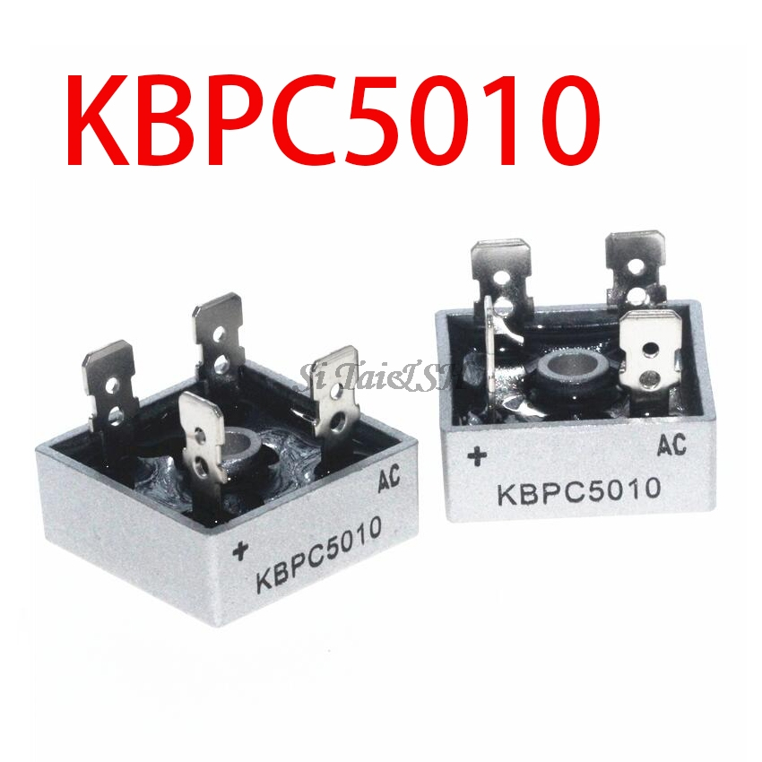 1PCS KBPC5010 1000V 50A  Diode Bridge Bridge Rectifier New And Original IC