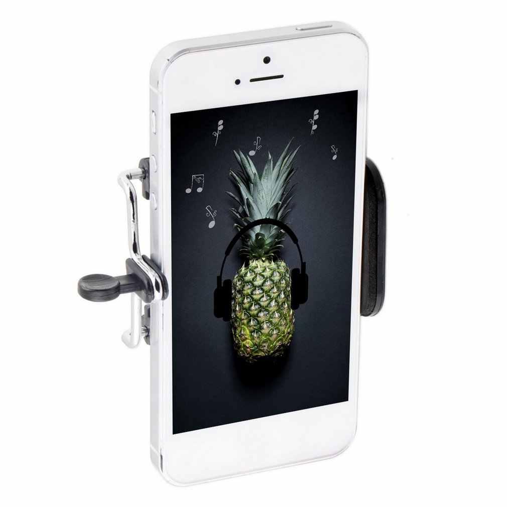 Universal Mobile Ponsel Kamera Stand Klip Penahan Dudukan Braket Adaptor Tripod untuk iPhone untuk Samsung untuk HTC