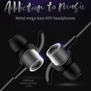 Image 2 - Marke Neue Kopfhörer QKZ CK1 Zink legierung In Ohr Stereo Ohrhörer Kopfhörer Super Bass Stereo Musik Headset Mit Mic für Handy