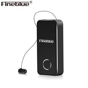 FineBlue F2 bluetooth 5,0 алюминиевый сплав Вибрация вызова Bluetooth наушник беспроводные наушники Bluetooth гарнитура импортный чип CSR