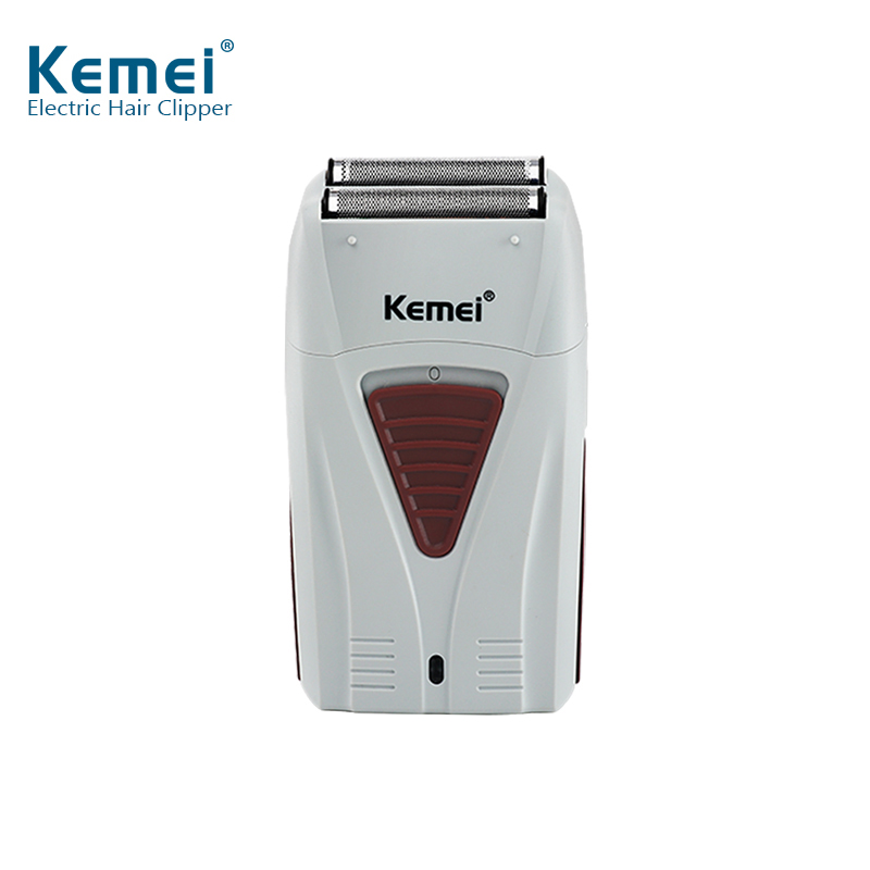 Kemei Men's Professional Hair Clipper 0mm Bareheaded Hair Removal Men's Razor High Quality Electric Shaver for Men Cordless