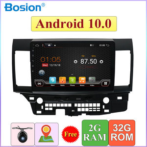 10.1 inch Autoradio 2G+32G For Mitsubishi Lancer 2006-2016 Car Stereo Audio GPS Android 10.0 Free Camera Canbus Map